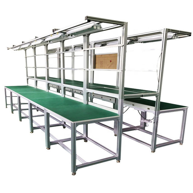 aluminium extrusion automatic bread production line garage workbench aluminium profile